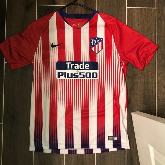 newest ed2ab eea32 Nike 17-18 Antoine Griezmann Atletico Madrid Kit